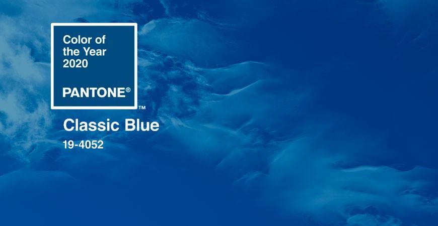 Classic Blue: El color del año 2020 (Pantone) y cómo combinarlo con tu decoración