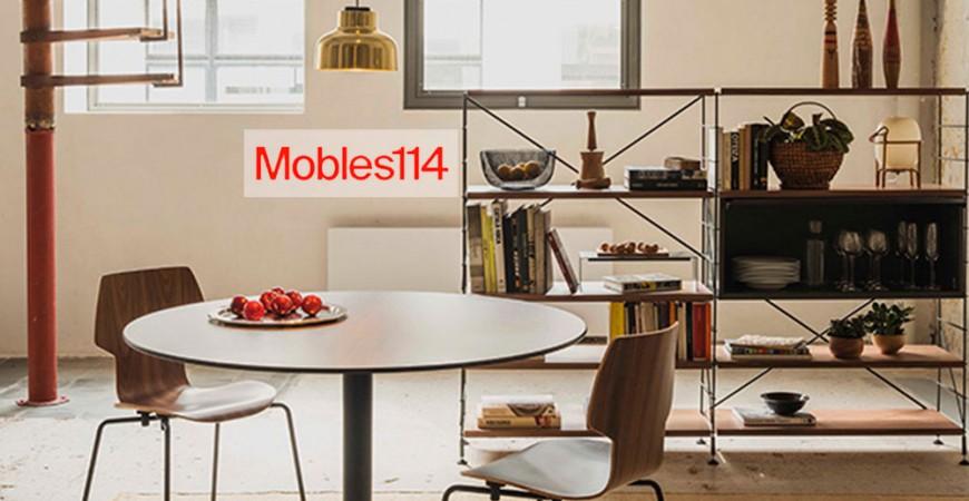 Mobles 114: El arte de reeditar muebles contemporáneos